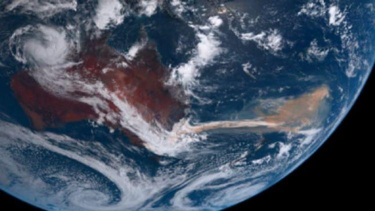 Massive plume of Australian bushfire smoke moves from New Zealand to Chile