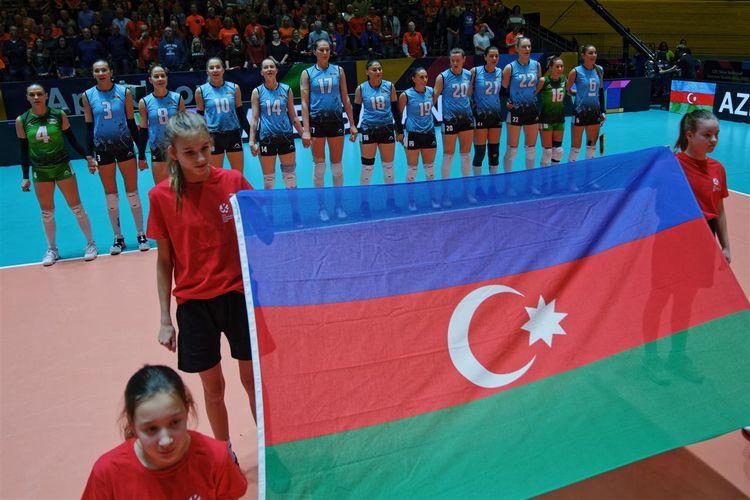 Azərbaycan millisi Avropa Olimpiya Təsnifat Turnirinə məğlubiyyətlə başlayıb - FOTOSESSİYA