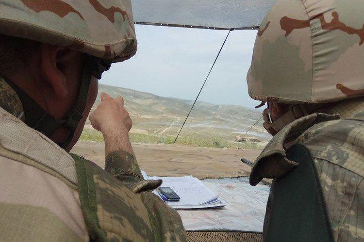 Ermənistan silahlı qüvvələri snayper tüfənglərindən istifadə etməklə atəşkəsi 21 dəfə pozub