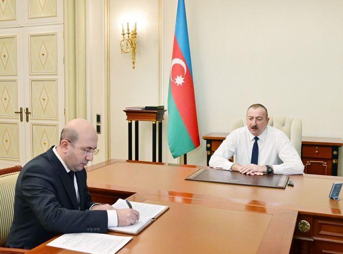 Президент Ильхам Алиев принял нового председателя Госкомитета по градостроительству и архитектуре  - ОБНОВЛЕНО