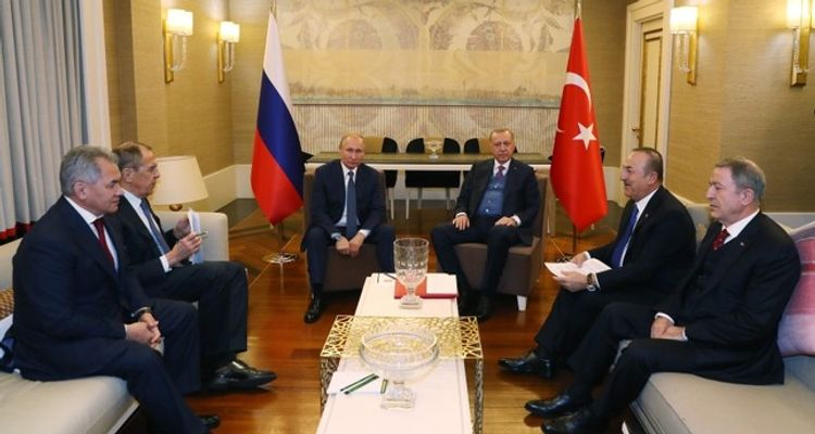 Turkish and Russian Presidents call for cease-fire in Libya