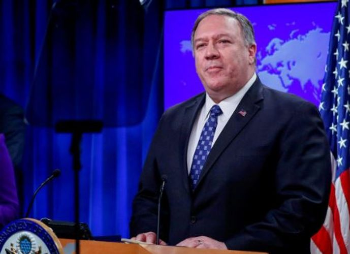 """Pompeo: """"U.S. calls for complete cooperation with any probe into cause of Ukrainian airliner crash in Iran"""""""