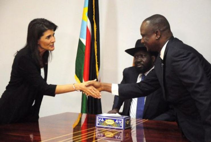 U.S. imposes sanctions on South Sudanese vice president