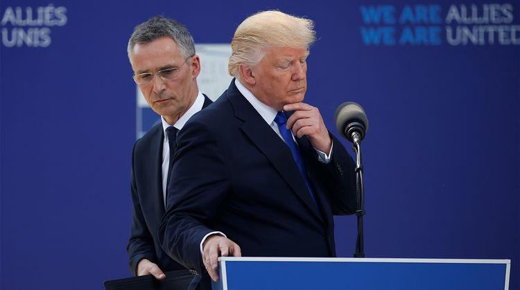 NATO baş katibi Trampın Yaxın Şərqlə bağlı çağırışına müsbət cavab verib