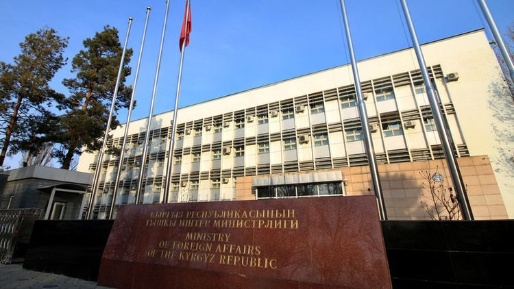 Tajik ambassador summoned to Kyrgyz Foreign Ministry due to conflict on border