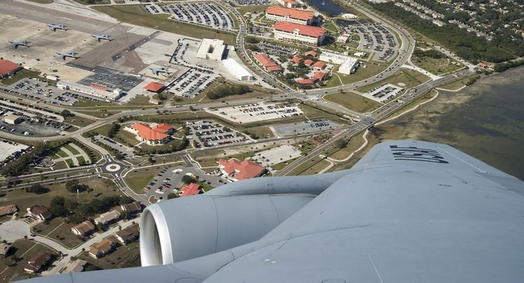 MacDill Air Force base briefly put on lockdown amid gunshots allegedly fired near facility