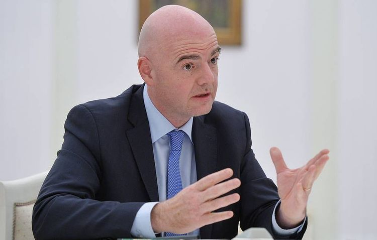 FIFA President Infantino elected as member of International Olympic Committee