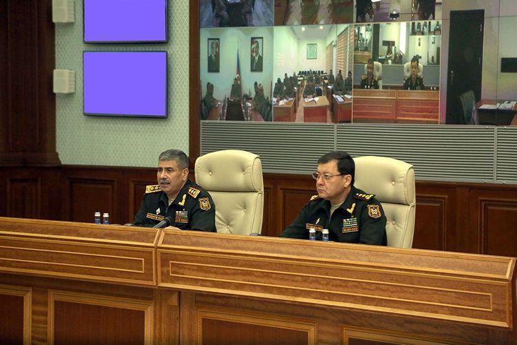 Министр обороны: Вооружение, имеющееся в распоряжении азербайджанской армии, полностью позволяет обеспечить победу над противником