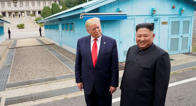 Trump reaches out to North Korea to resume talks