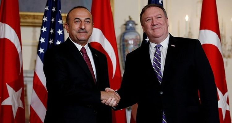 Turkish FM discusses Mideast with US counterpart