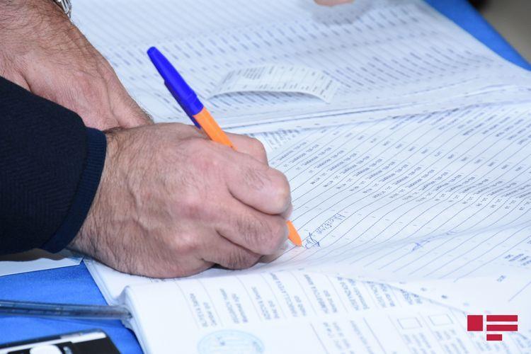Зарегистрированы кандидатуры более половины обратившихся в связи с парламентскими выборами