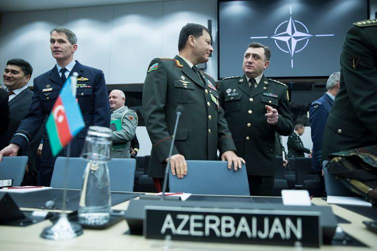 Nəcməddin Sadıkov NATO-nun toplantısında iştirak edib