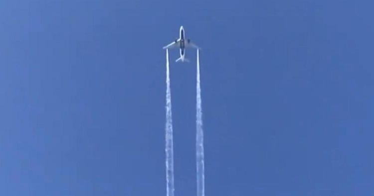 Plane dumps fuel over school in emergency landing to LAX