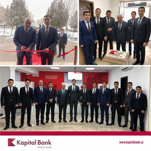 Kapital Bank обновил еще 3 филиала в Нахчыване