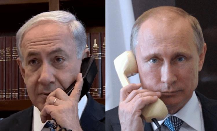 Netanyahu və Putin arasında telefon danışığı olub