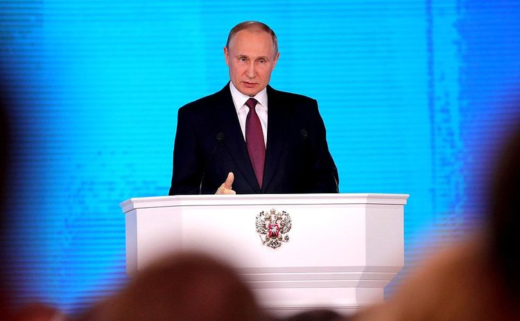 Russia must remain presidential republic, people will support this, says Putin