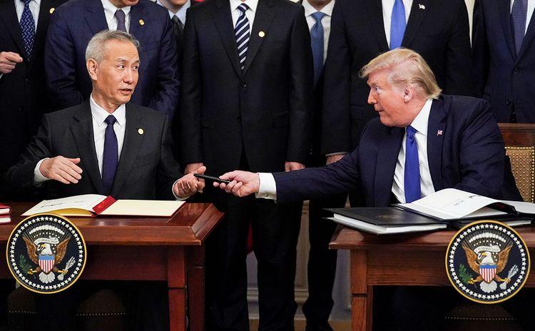 США и Китай подписали документы по торговой сделке