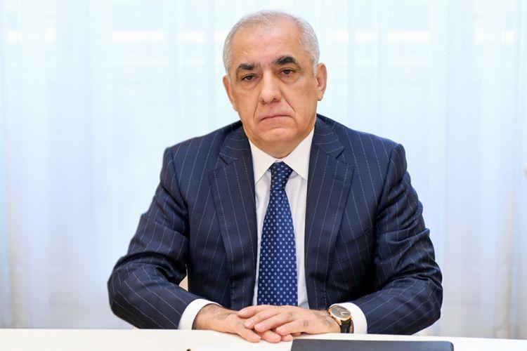 Али Асадов поздравил Михаила Мишустина с назначением на пост премьер-министра России