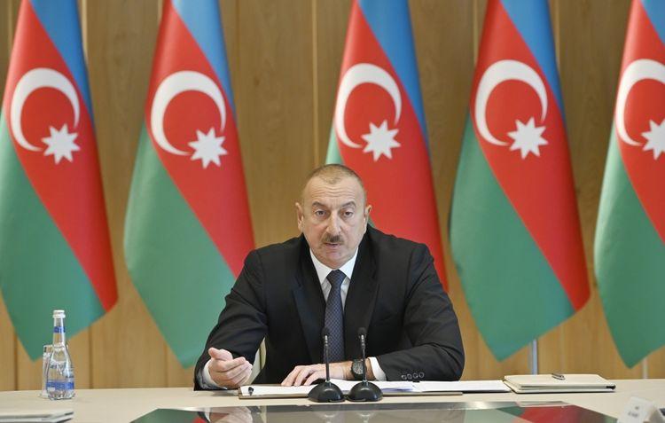 "President Ilham Aliyev: ""Azerbaijani people is the main guarantor of stability in Azerbaijan"""