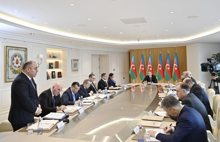"""Azerbaijani President: """"Some people – both local and foreign – complain of rude treatment and disrespect at customs checkpoints"""""""