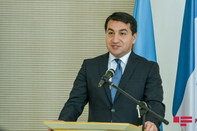 "Hikmet Hajiyev: ""EU has firm and unanimous support to Azerbaijan's territorial integrity"""