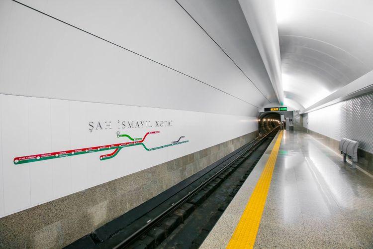 """Bu ilin ortalarında """"Xətai"""" metro stansiyasında qatarların ikitərəfli hərəkəti təşkil olunacaq"""