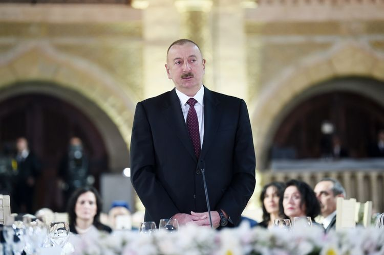 """President Ilham Aliyev: """"At the end of this year or next year we will receive first gas in the amount of 1.5 billion cubic meters from Absheron"""""""