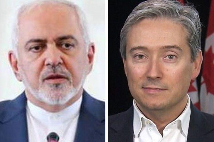 İran və Kanadanın XİN rəhbərləri Omanda təyyarə faciəsini müzakirə ediblər