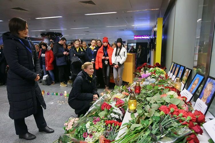 Названа дата доставки в Украину тел погибших в авиакатастрофе в Иране