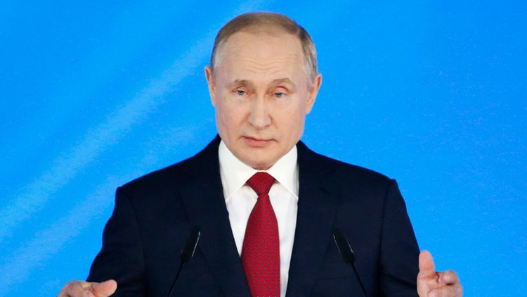 Russian President Putin dismisses idea of indefinite Presidential terms