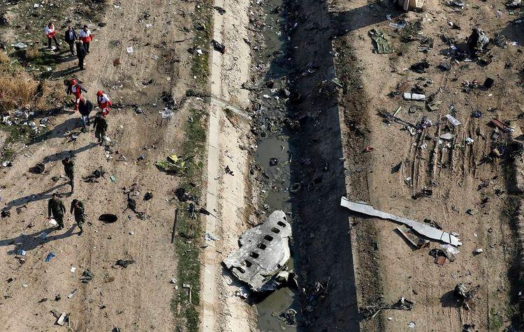 Иран передаст Украине «черные ящики» сбитого под Тегераном Boeing