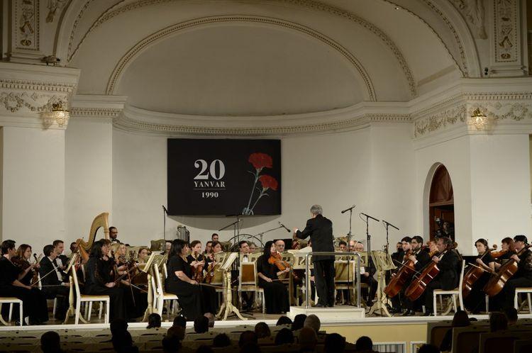 20 Yanvar faciəsinin 30-cu ildönümünə həsr olunmuş konsert keçirilib