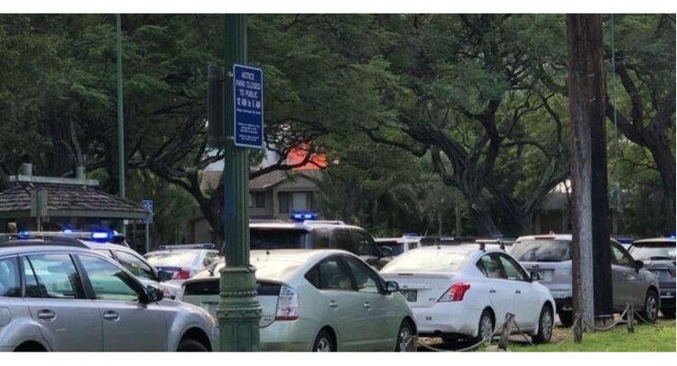 At least 2 officers shot in Honolulu, Hawaii, Police on scene