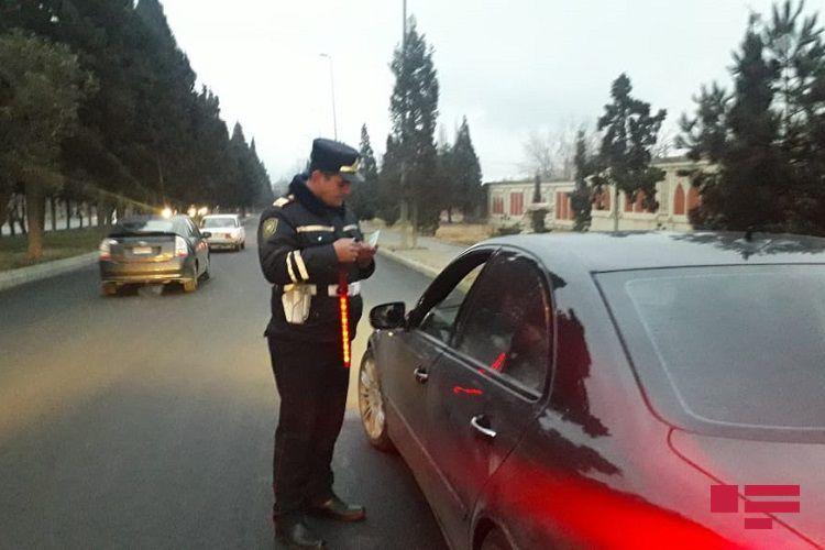 Дорожная полиция провела масштабный рейд в Гяндже - ФОТО