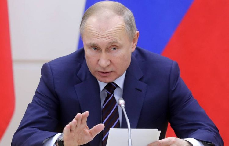 Putin Konstitusiyaya dəyişikliklə bağlı qanun layihəsini Dövlət Dumasına təqdim edib