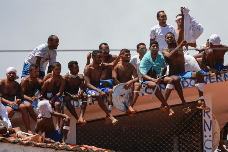 Jailbreak in Brazil sees 26 prisoners escape
