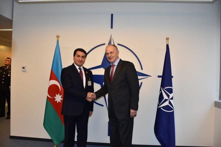 Помощник Президента Азербайджана встретился с заместителем генсека НАТО - ФОТО