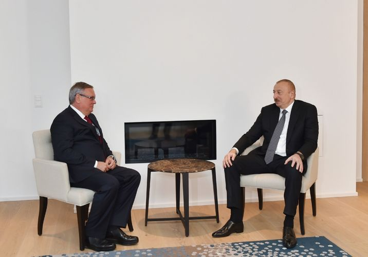 President Ilham Aliyev met with President and Chairman of VTB Bank Management Board