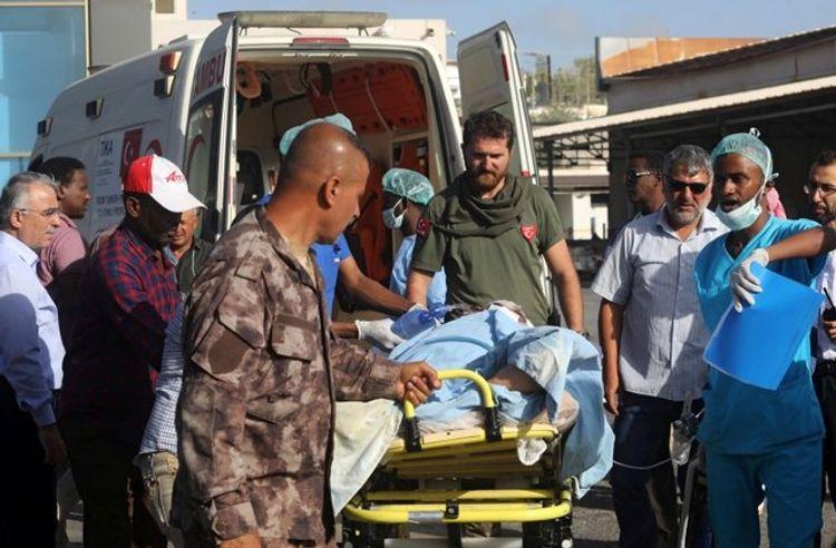Nine injured in Somali bombing flown to Turkey for treatment