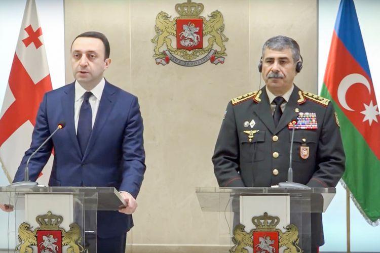 Закир Гасанов: Азербайджано-грузинское военное сотрудничество будет успешно развиваться