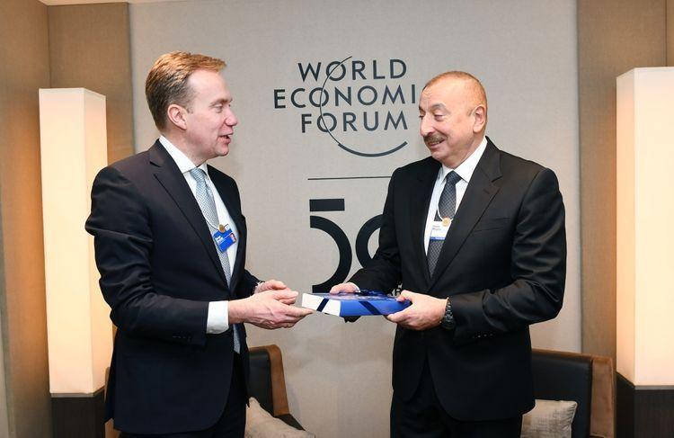 Подписан протокол о намерениях относительно создания в Азербайджане регионального центра Всемирного экономического форума