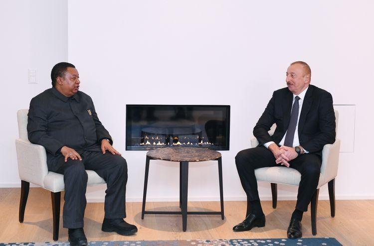 В Давосе состоялась встреча президента Азербайджана с генеральным секретарем ОПЕК