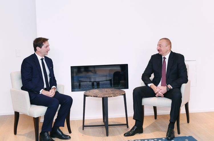 CEO of SUEZ Group informs President Ilham Aliyev about the projects implemented in Azerbaijan