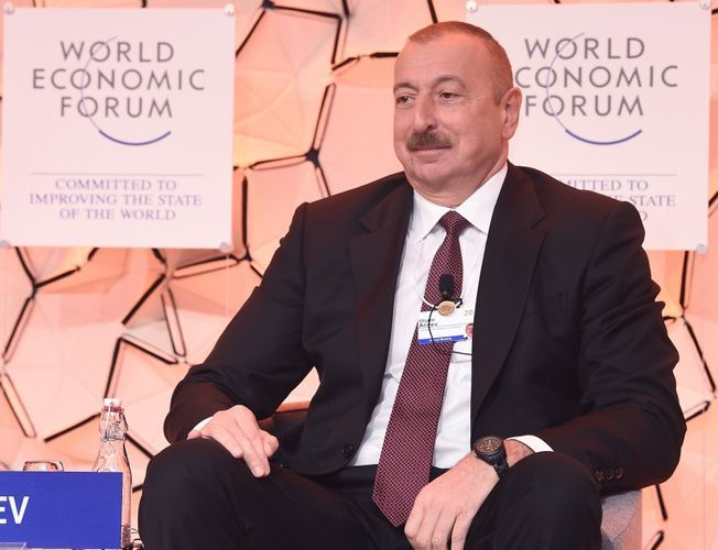 """President Ilham Aliyev: """"Our relations with our neighboring countries and the big number of partners are based on mutual interest"""""""