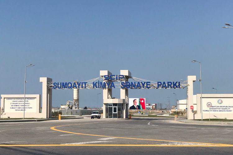 Sumqayıt Kimya Sənaye Parkında rezidentlərin sayı artıb