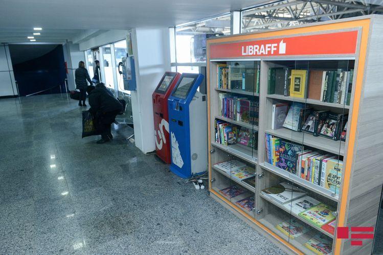 """Reading centers of """"Libraff"""" established at Baku International Bus Terminal"""