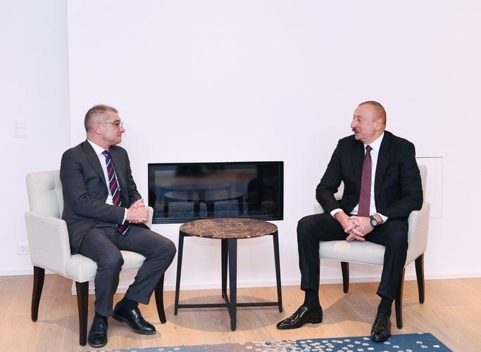 Президент Ильхам Алиев встретился с руководителем компании «Procter and Gamble Europe»