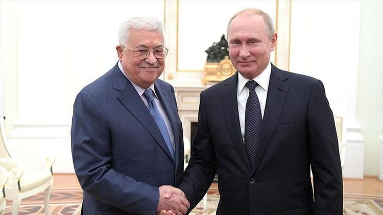 Путин прибыл с визитом в Палестину