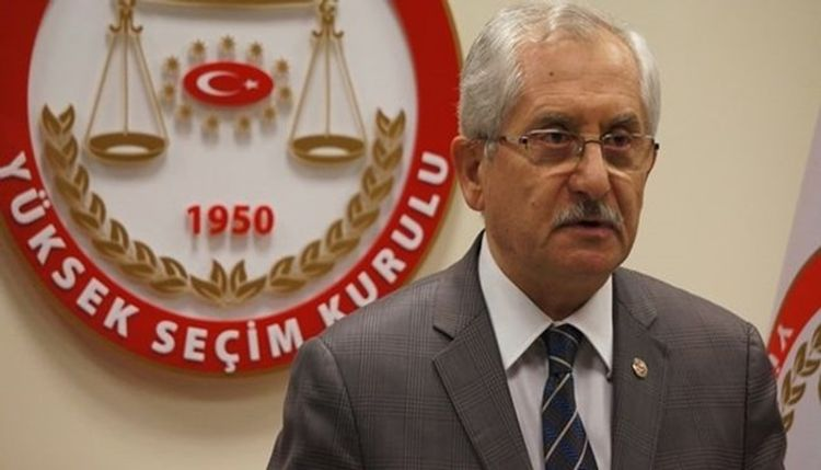 Türkiyə Ali Seçki Qurumunun sədri dəyişib