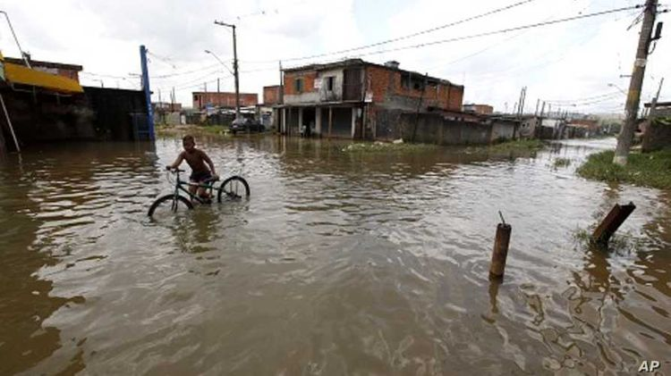 Heavy rains in Brazil cause flooding, landslides and killed 11
